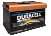 DURACELL ADVANCED - DA 74