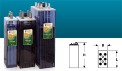 STATIONARY BATTERIES - 12 OPZS 1500